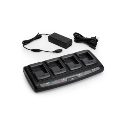 4-stanowiskowa ładowarka baterii do drukarek Zebra ZQ110 (UK)