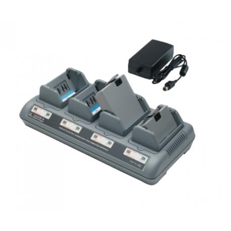4-stanowiskowa ładowarka baterii do drukarek Zebra QL/QLn/RW/P4T/ZQ500 (UK)