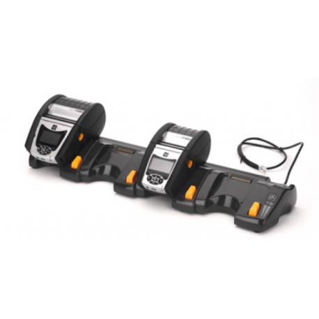 4-stanowiskowy dok do drukarek Zebra QLn220/QLn320/QLn220-hc/QLn320-hc (EU)