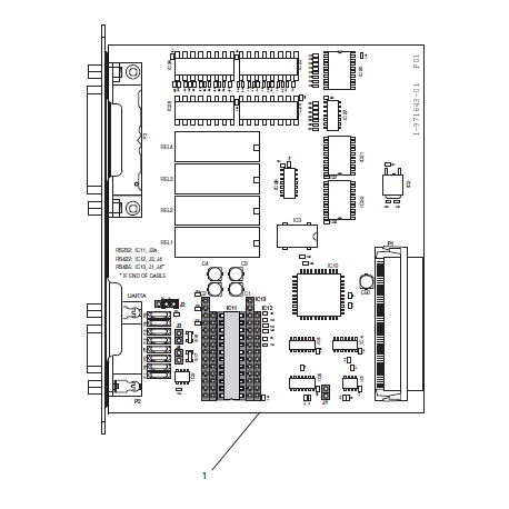 Interfejs RS-232 do drukarek Honeywell PA30/PF4i/PM4i/PX4i/PX6i