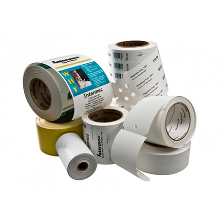 Etykieta Honeywell Duratran I Paper, 101.6x50.8mm (12pack)