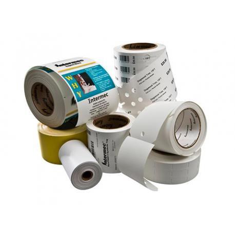 Etykieta Honeywell Duratran I Paper, 101.6x101.6mm (12pack)