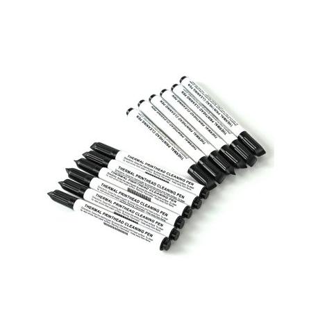 Zestaw pisaków czyszczących do drukarek kart Zebra (12pack)