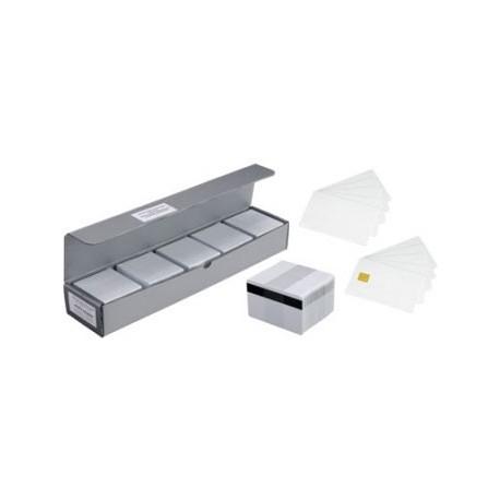 Karty Zebra PVC Premier Card, srebrne (500pack)