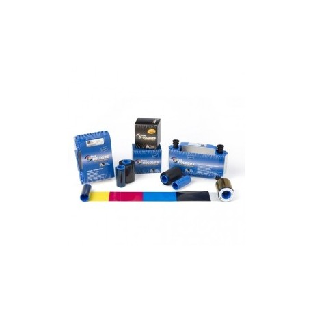 Taśma Zebra True Colours do drukarek Zebra P300i/P330i/P430i, niebieska