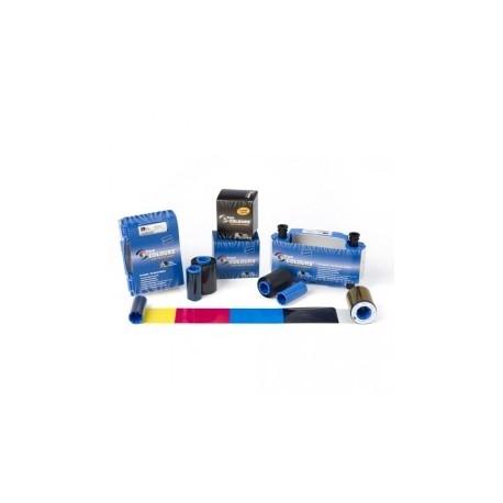 Taśma Zebra True Colours do drukarek Zebra P300i/P330i/P430i, srebrna