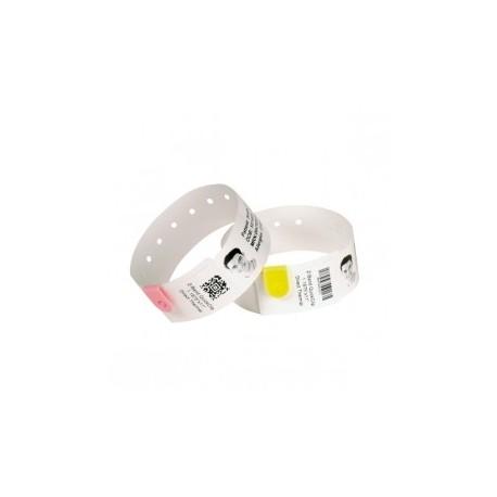 Opaski na rękę Zebra Z-Band UltraSoft 25x279mm, białe (6pack)
